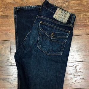 Men's Polo Ralph Lauren Dark Wash Jeans 34x34